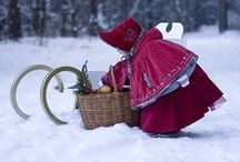 I N S P I ཞ E D † Winter / All things winter! Snuggling up by the fireplace, hot cocoa, warm hats and mittens...
