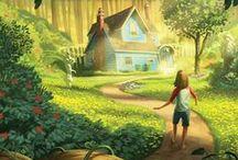 ༺Illustrations Delightful༻ / Beautiful illustrations that will set your imagination burning.