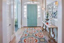 Entryways and Mudrooms / Stunning ways to greet guests, and perfect ways to organize that back door entryway.