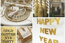New Years Party DIY Ideas / Everything sparkly and fun!