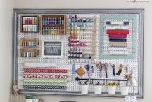 Craft rooms  and storage spaces