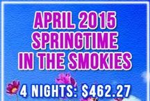 Things to Do in April / Fun things to do and special events in April 2014 in Gatlinburg and throughout the Great Smoky Mountains.