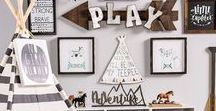 Little Boy Rooms / Bright, fun, and full of imagination, ideas for you to make your own little boy's room as special as he is.