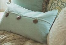 Pillow Addiction / Great bedding and decorative pillows to make your room cozy and comfy all year long!