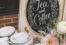Bridal Shower Ideas / Thinking about doing a vintage Tea and Coffee party for a bridal shower. Pin some ideas if you would like so we can start brain storming! Also, have people bring recipes and make a recipe book? :)