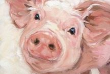 The Art of Farming / Paintings, sketches, drawings, watercolors. Life on the farm