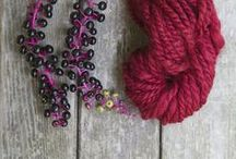 To *Dye* For / Making beautiful colors for wool, felt and other fabrics