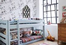 Shared Bedroom / Creating a cozy, practical boy/girl shared bedroom