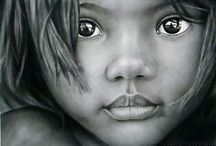 ART by Pencil, NOT Photos! / These images are NOT PHOTOS ... they are PENCIL drawings by incredibly talented artists.  PS. I have to admit that there's an ocasional PAINT job that you'd swear was a photo too. Check them out ... you'll be amazed ♥  Please respect the artists' copyrights ... and enjoy.