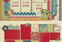 :Two Page Scrapbook Layouts: / Two Page Scrapbook Layouts