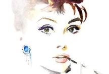 """Ikony kina -  Audrey Hepburn  / Była tancerka i modelka, która karierę w filmie rozpoczęła w 1951 roku.Młoda aktorka zdobyła przychylność Hollywood, dzięki głównej roli w romantycznej komedii """"Rzymskie wakacje"""" oraz kolejnym, podobnym kreacjom w takich filmach jak: """"Zabawna buzia"""" i """"Śniadanie u Tiffany'ego""""."""