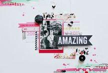 Beautiful layouts of others / Inspirational layouts   / by Chantal S