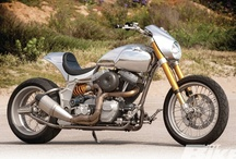Harley-Davidson / Harley-Davidson Motorcycles / by Hot Bike