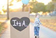 Happy Announcements / Pregnancy/Adoption announcements, gender reveal
