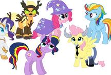 My little pony! / My little ponies / by Jeah Hacinas