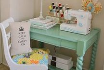 Small sewing space inspiration