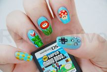 Nail art / Cute and geeky nail art inspiration!
