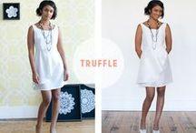 {Colette Book} Truffle Dress