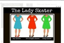 {Pattern to make} Lady Skater Dress