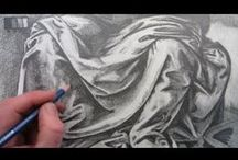 Drawing Tutorials / Learn all the skills needed to draw in traditional and digital techniques.