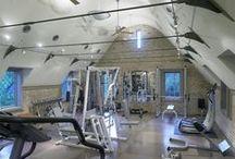 Gym and sauna / gym design