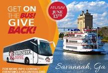 #GetOnTheBus to #Savannah 2015 / Classy Living Society took a trip to Savannah, GA for a fun-raiser day to support Project Love. It was filled with bonding, sight seeing and lots of love.