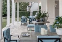 Outdoor dining in style / Stylish furniture for enjoying the outdoors