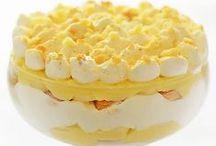 ⁂ No Bake Desserts