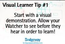 Visual Learning Style Tips / Need some helpful tips for your Visual learners?  Find helpful tricks as you teach your child this homeschooling year.