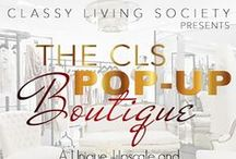 """CLS Pop Up Boutique 2015 / Just in time for our Second Annual Red Dress Gala, an upscale Sunday Brunch event scheduled for Sunday, November 8th at the Le Méridien Atlanta Perimeter, Classy Living Society, LLC (""""CLS"""") will be hosting a Pop up Shop/Boutique on October 17th, 2015. CLS will donate proceeds from the Pop-up Shop/Boutique to Jennifer Ann's Group, a 501c3 nonprofit organization committed to preventing teen dating violence through awareness, education and advocacy."""
