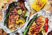 ⁂ BBQ Grill / Best recipes for summer barbecue and grilling!