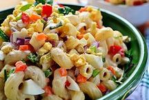 ⁂ Deli Salads / Easy homemade salad recipes that are better then your deli salads: potato salad, egg salad, pasta salad, tuna salad, chicken salad,  coleslaw recipes... Pick another one every day!