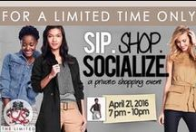 For a Limited Time Only at The Limited / The Limited Perimeter closed their doors for CLS members and friends to offer us a private sip, shop and socialize event.