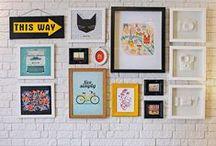 Organização, decoração, estampas e cores / Ideias para organizar e decorar a casa em mix de cores e estampas