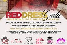 Red Dress Gala 2016 / Classy Living Society's 3rd Annual Red Dress Gala fundraising event to bring awareness to sex and human trafficking in Atlanta, GA in November at Twelve Atlantic Station - Grand Ballroom.