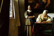 Johannes Vermeer / Pittori