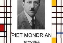 Piet Mondrain / Pittori
