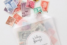 Postzegel / by ayumi matsuoka