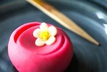 和菓子 Japanese sweets / by ayumi matsuoka