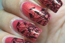 Glitterland nails / http://katjuskan.blogspot.fi/
