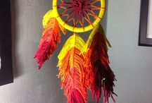 Handmade by me ✂️ / Handmade thing, dreamcatcher, no sew, Made with recycled material