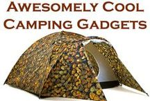 Cool Camping Gadgets / Do you love the outdoors? Then here are the most clever, useful and coolest Camping Gadgets to use on your adventures!