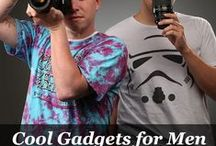 Cool Gadgets for Men / The MOST awesome and cool gadgets for men, their hobbies, and their man-caves. After all, what man doesn't like a cool gizmo?!