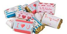 Valentine's Day / Show loved ones how sweet they are by designing them a gift using Avery Labels to decorate and personalize the gift for them