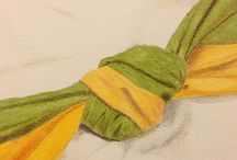 (Colored) pencil - Tinted charcoal - Graphitint / Drawing