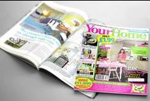 Our wallpapers in Your Home magazine