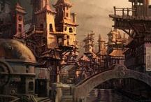 Steampunk / All about cogwheels, air ships, steam gear, and other Steampunk and Victorian times related tidbits.