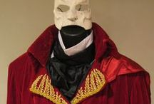 Red Death Phantom of the Opera Cosplay / I commissioned this costume quite awhile back and the detail is amazing. I will be altering it to fit me now