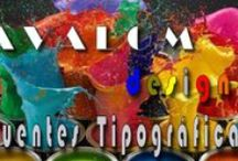 Avalom designs Fuentes tipográficas / Toda la información sobre fuentes tipográficas.