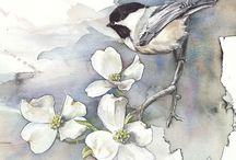 Inspire- Watercolor